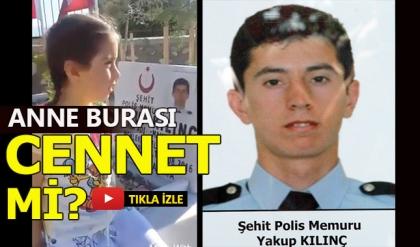 Şehit kızının bu sözleri Türkiye'yi ağlattı