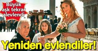 Tamer Karadağlı ile Arzu Balkan yeniden evlendi