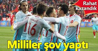 Türkiye 3 - 1 Moldova maç özeti golleri Emre Mor golü
