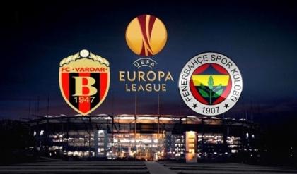 Fenerbahçe'ye Vardar hezimeti