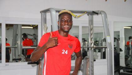 Atakaş Hatayspor'da yeni transfer Babajide David Akintola antrenmanlara başladı