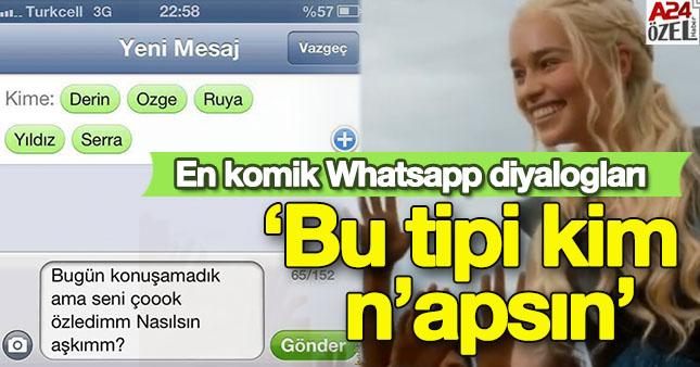 En komik whatsapp konuşmaları A24