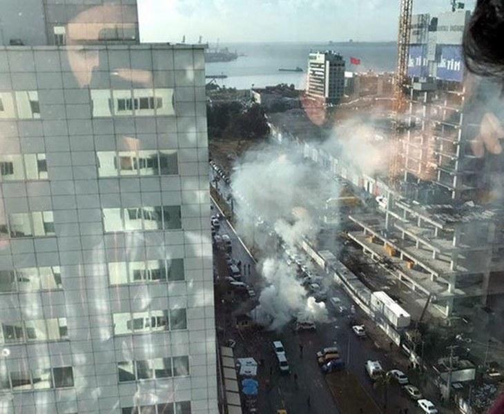 İzmir'deki patlamadan ilk görüntüler A24