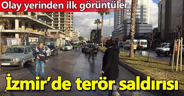 İzmir'deki patlamadan ilk görüntüler