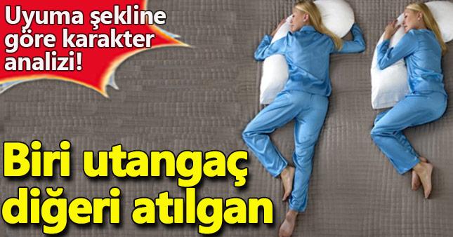 Uyuma şeklinize göre karakter analizi A24