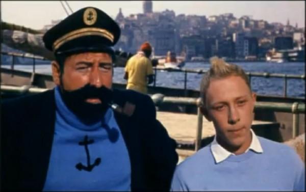 1961 yapımı Tenten filminde görebileceğiniz şahane 18 İstanbul manzarası A24