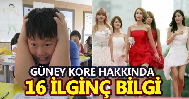 Güney Kore'yle ilgili mutlaka bilmeniz gereken 16 şaşırtan bilgi