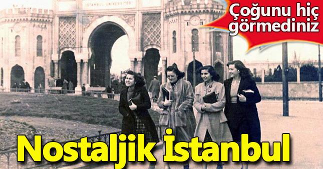 Daha önce görülmemiş eski İstanbul fotoğrafları