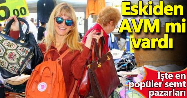 İstanbul'daki en popüler semt pazarları