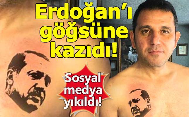 Fatih Portakal'dan Erdoğan dövmesi geldi