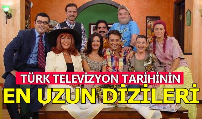 Türk televizyonlarının en uzun süren ilk 10 dizisi