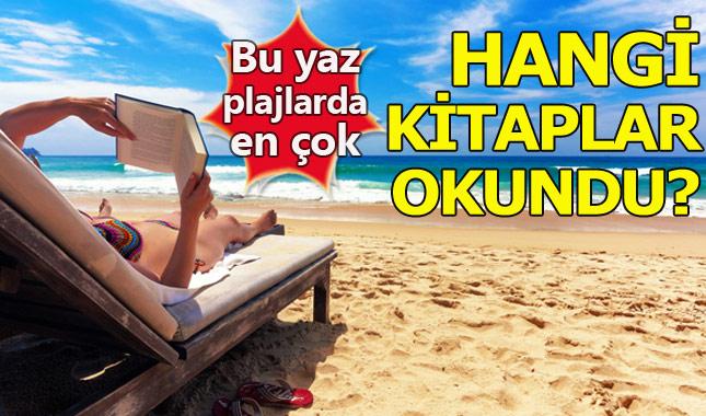 Bu yaz plajlarda en çok okunan 20 kitap!