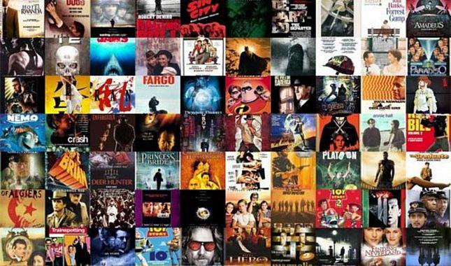 Sinema Tarihinin en beğenilen 100 Filmi...