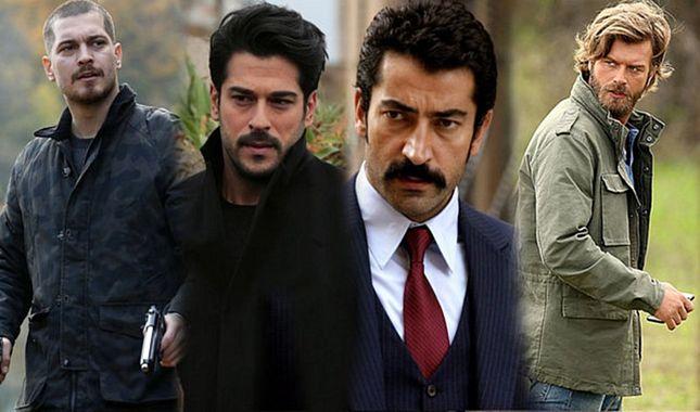 Türkiye televizyonlarının en karizmatik ve yakışıklı 50 oyuncusu... A24