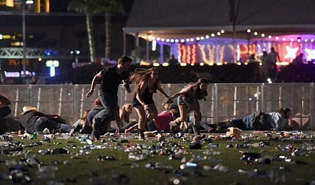 20 Kişinin öldüğü Las Vegas saldırısından en çarpıcı görüntüler!