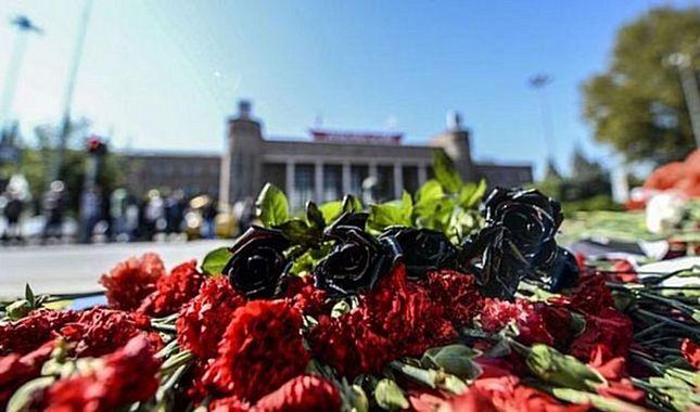 2.yılında 10 Ekim Ankara gar patlamasının kurbanları anıldı...
