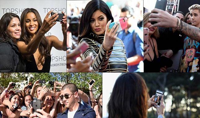 Ünlü isimlerde SELFIE çeker! Selfie çektirmek için estetik yapan ünlü isimler!