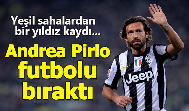 Başbakan lakaplı Pirlo futbola veda etti...