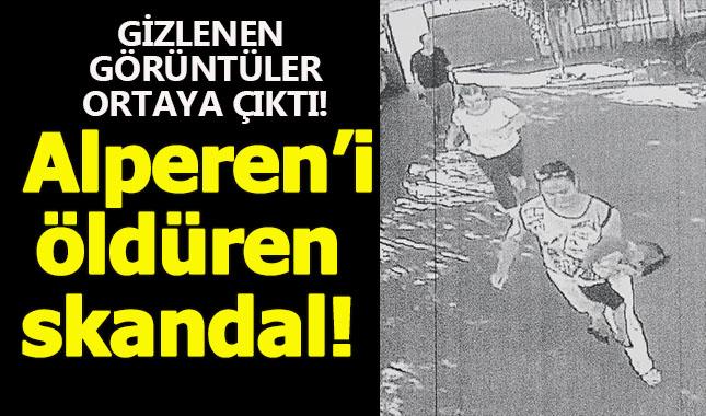 Minik Alperen'i ölüme götüren skandalın görüntüleri ortaya çıktı