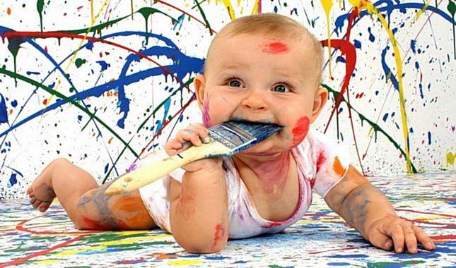 Çocukların yaramazlıklarının sınır tanımadığının ispatı fotoğraflar...