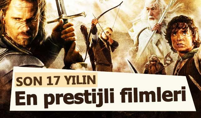 Son 17 Yılın en prestijli filmleri açıklandı...