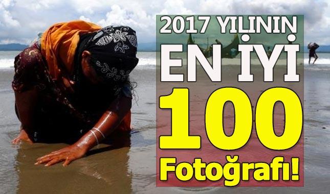 Reuters 2017 yılın en iyi 100 fotoğrafını yayınladı...