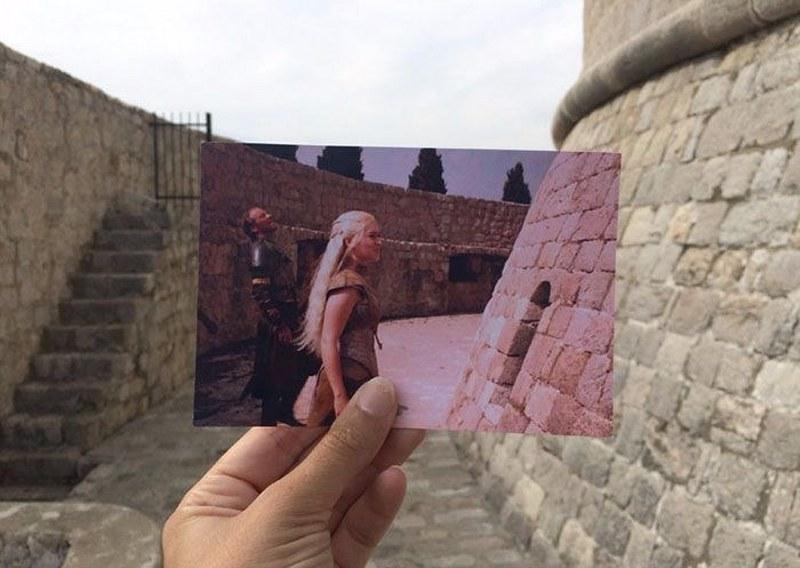 Sahneleri ülke ülke fotoğraflıyor (Game Of Thrones'un peşinde) A24