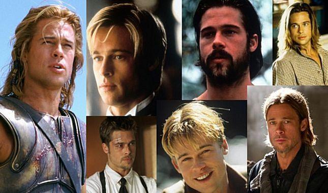 55. yaşında 55 fotoğrafla Brad Pitt