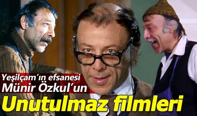 Münir Özkul'u unutulmaz filmleri (Yeşilçam ustası hayatını kaybetti)