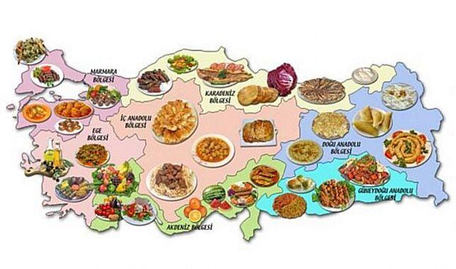 Hangi şehirde hangi yemek yenir? (Türkiye'nin lezzet haritası)