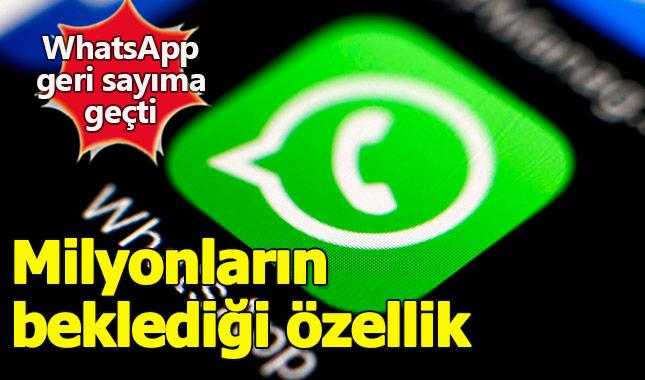 WhatsApp milyonların beklediği özelliği duyurmaya hazırlanıyor