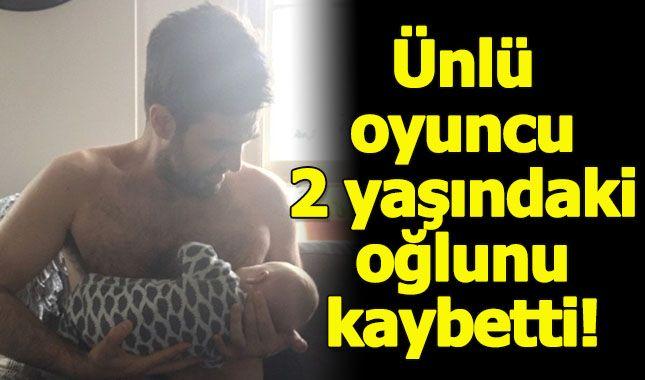 Ünlü oyuncu 2 yaşındaki oğlunun ölüm haberini sosyal medyadan verdi...