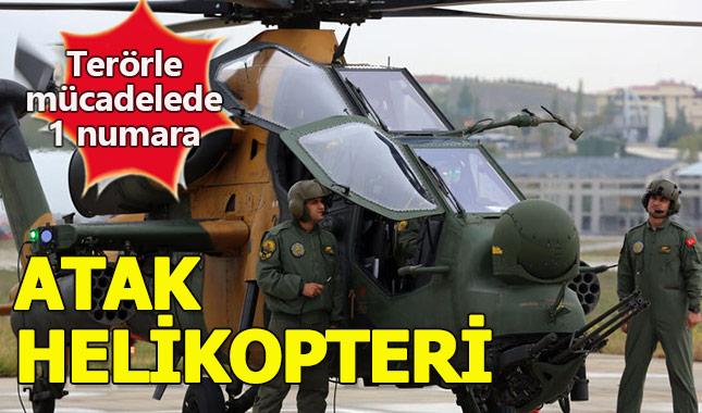 Atak Helikopteri genel özellikleri (Maddelerle)