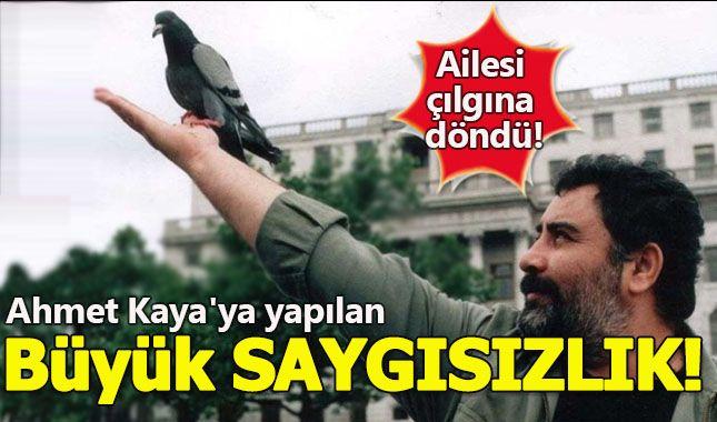 Ahmet Kaya'nın ailesi büyük tepki verdi!