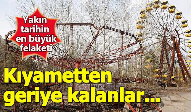 Nükleer faciasının yaşandığı Çernobil'den birbirinden ilginç kareler