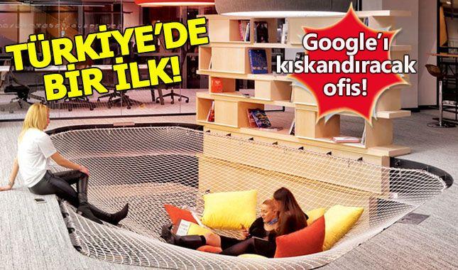 İşte Google'ı kıskandıracak ofis (İstanbul'da açıldı, Türkiye'de bir ilk)