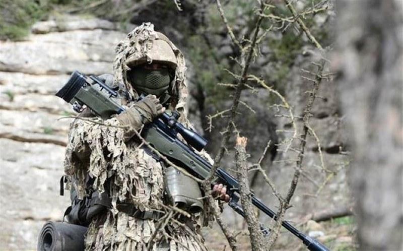 Teröristlerin korkulu rüyası Keskin Nişancılar Afrin'de A24