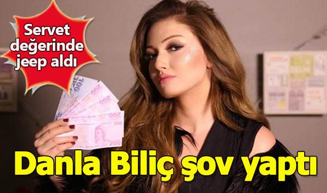Danla Bilic servet değerindeki yeni arabasıyla şov yaptı! Tam 500 bin TL