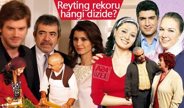 Tarihin en unutulmaz reytingleri alan Türk dizileri hangisi?