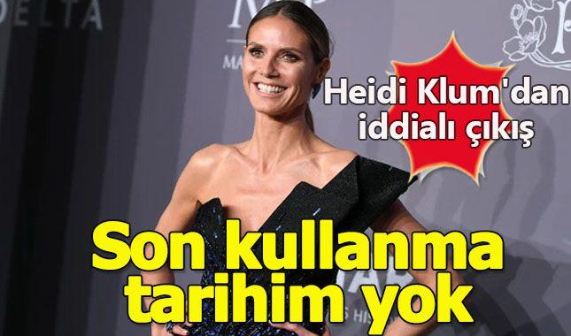 Alman Model Heidi Klum'dan İddialı Çıkış: Son Kullanma Tarihim Yok
