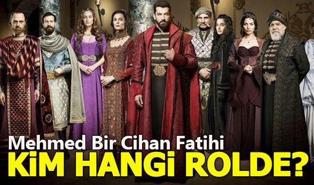 Mehmed Bir Cihan Fatihi dizisinin oyuncu kadrosu belli oldu (Dizide kim kimdir?)
