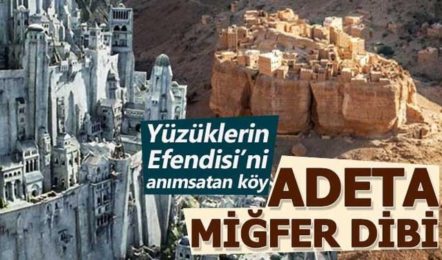 Yüzüklerin Efendisi filmini anımsatan köy: Haid Al- Jaz A24