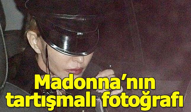 Madonna'nın tartışmalı fotoğrafı