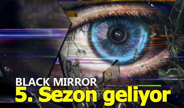 Black Mirror'ın beşinci sezonu geliyor