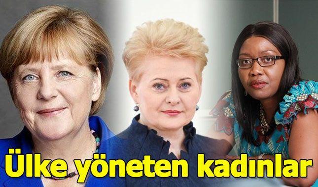 Ülke yöneten kadınlar
