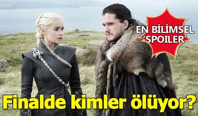 Game of Thrones'un final sezonunda kimler ölecek? (Bilgisayar tahmin etti) A24