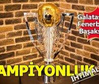 Süper Lig'de kim nasıl Şampiyon olur işte şampiyonluk ihtimalleri...