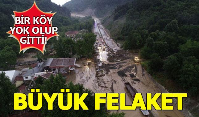 Bursa'da sağanak yağış sonrası sular çekilince orta bu acı manzaralar çıktı! A24