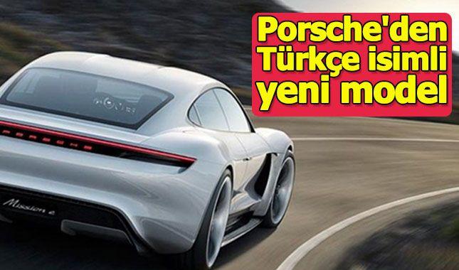 Porsche Türkçe isimli otomobilini duyurdu (Tesla'ya rakip olacak) A24