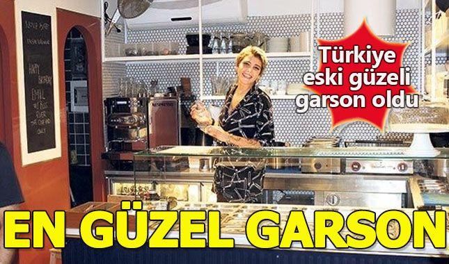 Türkiye eski güzeli Senem Kuyucuoğlu garson oldu A24